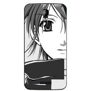Snooky 42131 Digital Print Mobile Skin Sticker For Intex Aqua Q1 - Grey