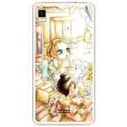 Snooky 42170 Digital Print Mobile Skin Sticker For Intex Aqua Star 5.0 - White