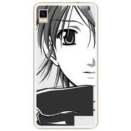 Snooky 42175 Digital Print Mobile Skin Sticker For Intex Aqua Star 5.0 - Grey