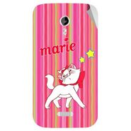 Snooky 46145 Digital Print Mobile Skin Sticker For Micromax Canvas Lite A92 - Pink