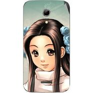 Snooky 46551 Digital Print Mobile Skin Sticker For Micromax Canvas 2.2 A114 - Multicolour