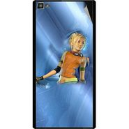 Snooky 47099 Digital Print Mobile Skin Sticker For Xolo Hive 8X-1000 - Blue