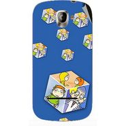 Snooky 47151 Digital Print Mobile Skin Sticker For Xolo A500 - Blue