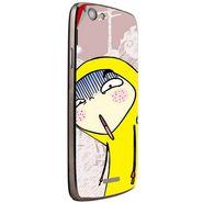 Snooky 47280 Digital Print Mobile Skin Sticker For Xolo A510S - Multicolour