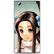 Snooky 47318 Digital Print Mobile Skin Sticker For Xolo A600 - Multicolour