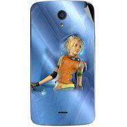 Snooky 47451 Digital Print Mobile Skin Sticker For Xolo Omega 5.5 - Blue