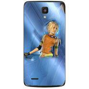 Snooky 47611 Digital Print Mobile Skin Sticker For Xolo Q700 - Blue