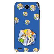 Snooky 47695 Digital Print Mobile Skin Sticker For Xolo Q800 - Blue