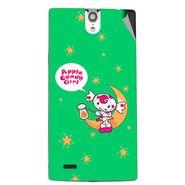 Snooky 47831 Digital Print Mobile Skin Sticker For Xolo Q1010i - Green