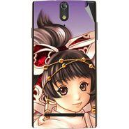 Snooky 47861 Digital Print Mobile Skin Sticker For Xolo Q1020 - Multicolour