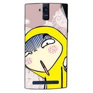 Snooky 47920 Digital Print Mobile Skin Sticker For Xolo Q2000 - Multicolour