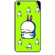 Snooky 47933 Digital Print Mobile Skin Sticker For Xolo Q2000L - Green