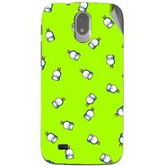 Snooky 48001 Digital Print Mobile Skin Sticker For Xolo Play T1000 - Green