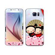 Snooky 48242 Digital Print Mobile Skin Sticker For Samsung Galaxy S6 - Multicolour