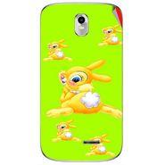 Snooky 48385 Digital Print Mobile Skin Sticker For Lava Iris 402 Plus - Green