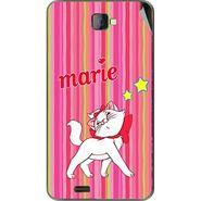 Snooky 48479 Digital Print Mobile Skin Sticker For Lava Iris 502 - Pink