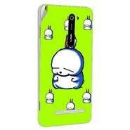 Snooky 48508 Digital Print Mobile Skin Sticker For Lava Iris 503 - Green