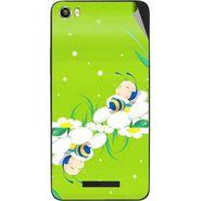 Snooky 48633 Digital Print Mobile Skin Sticker For Lava Iris X8 - Green