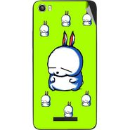 Snooky 48636 Digital Print Mobile Skin Sticker For Lava Iris X8 - Green