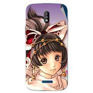 Snooky 48660 Digital Print Mobile Skin Sticker For Lava Iris 450 - Multicolour