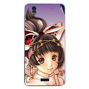 Snooky 48756 Digital Print Mobile Skin Sticker For Lava Iris Pro 20 - Multicolour