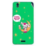 Snooky 48758 Digital Print Mobile Skin Sticker For Lava Iris Pro 20 - Green