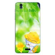 Snooky 48760 Digital Print Mobile Skin Sticker For Lava Iris Pro 20 - Green