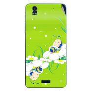 Snooky 48761 Digital Print Mobile Skin Sticker For Lava Iris Pro 20 - Green