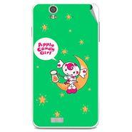 Snooky 48822 Digital Print Mobile Skin Sticker For Lava Iris X5 - Green