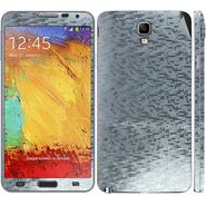 Snooky 18232 Mobile Skin Sticker For Samsung Galaxy Note 3 Neo - Silver