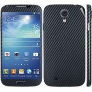 Snooky 18266 Mobile Skin Sticker For Samsung Galaxy S4 I9500 - Black