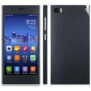 Snooky 18636 Mobile Skin Sticker For Xiaomi Mi3 - Black