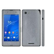 Snooky 20500 Mobile Skin Sticker For Sony Xperia E3 Dual - silver