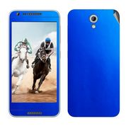 Snooky 20633 Mobile Skin Sticker For HTC Desire 820 - Blue
