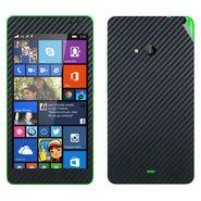 Snooky 20657 Mobile Skin Sticker For Microsoft Nokia Lumia 535 - Black