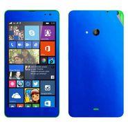 Snooky 20661 Mobile Skin Sticker For Microsoft Nokia Lumia 535 - Blue