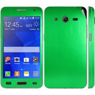 Snooky 20543 Mobile Skin Sticker For Samsung Galaxy Core 2 G355h - Green