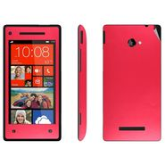 Snooky 20564 Mobile Skin Sticker For Htc 8X - Red