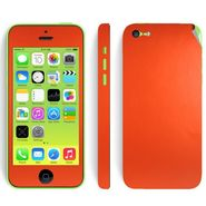 Snooky 20682 Mobile Skin Sticker For Apple Iphone 5C - Orange