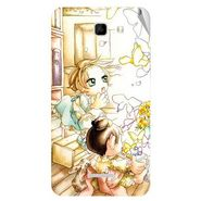 Snooky 42610 Digital Print Mobile Skin Sticker For Micromax Canvas XL2 A109 - White