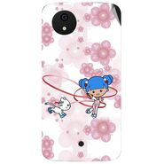 Snooky 42804 Digital Print Mobile Skin Sticker For Micromax A1 Android One - White
