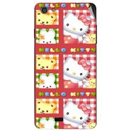 Snooky 43051 Digital Print Mobile Skin Sticker For Xolo Q900s - Red