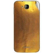 Snooky 43245 Mobile Skin Sticker For Intex Aqua i4 - Golden