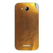 Snooky 43257 Mobile Skin Sticker For Intex Aqua i5 - Golden