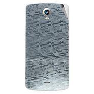 Snooky 43277 Mobile Skin Sticker For Intex Aqua i6 - silver