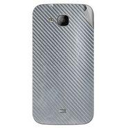 Snooky 43326 Mobile Skin Sticker For Intex Aqua N2 - silver