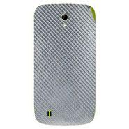 Snooky 43338 Mobile Skin Sticker For Intex Aqua N4 - silver