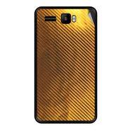 Snooky 43425 Mobile Skin Sticker For Intex Aqua R3 - Golden