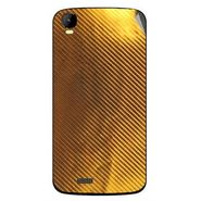 Snooky 43437 Mobile Skin Sticker For Intex Aqua Speed - Golden