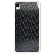 Snooky 43452 Mobile Skin Sticker For Intex Aqua Star 5.0 - Black